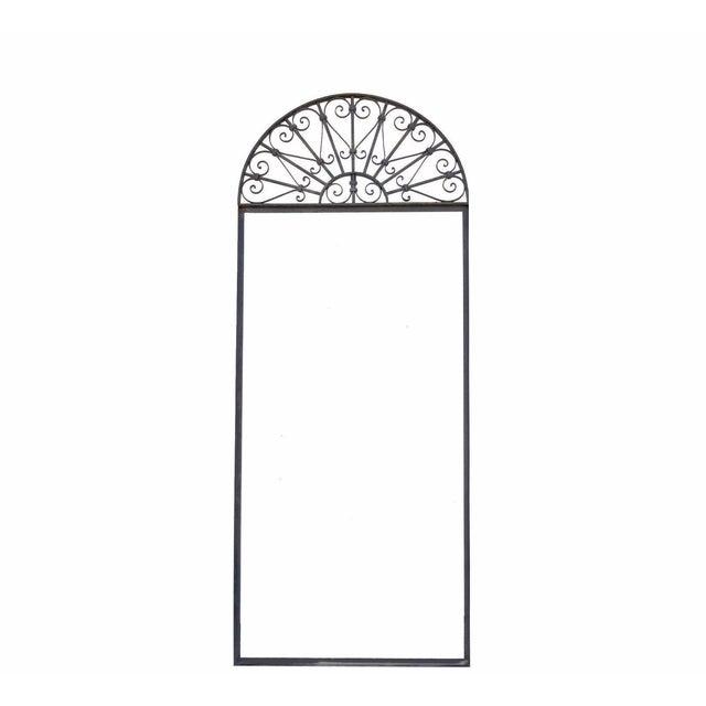 Vintage Ornate Wrought Iron Door Arch Frame Patio Garden Element ...