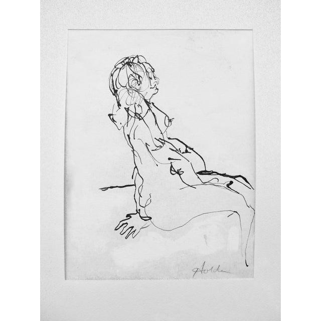 Femme Enceinte Original Drawing - Image 2 of 4
