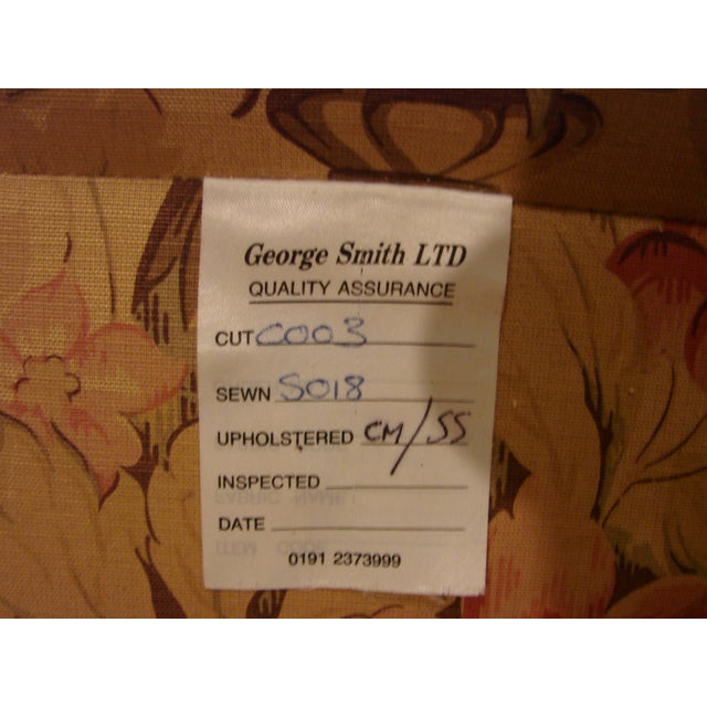 2000 - 2009 George Smith Scroll Arm Signature Sofa For Sale - Image 5 of 7