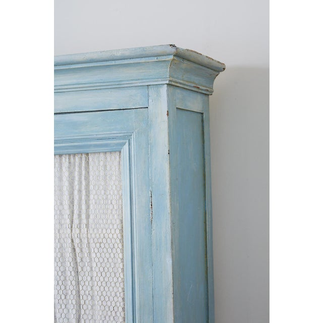 Country French Provincial Painted Armoire Cabinet For Sale - Image 11 of 13