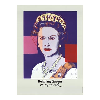 Andy Warhol_Queen Elizabeth II of England From Reigning Queens_1986_Offset Lithograph For Sale
