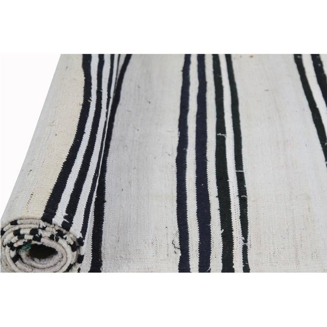 "Traditional Kilim Tribal Area Rug-2'7""x11'1"" For Sale - Image 4 of 7"