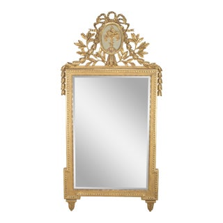 Louis XVI Style Console Mirror For Sale