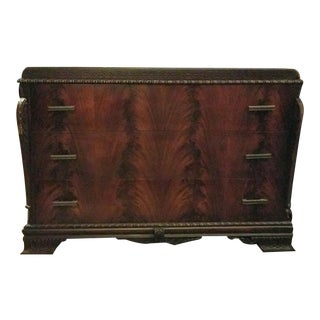 1940's Bassett Mahogany Dresser