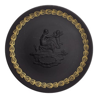 """Mother"" Black Basalt Wedgwood Decorative Plate"