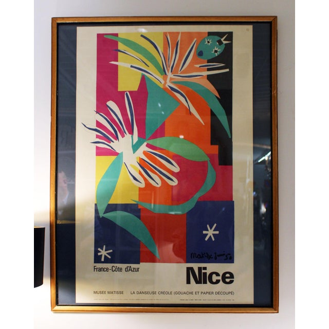 Vintage Travel Poster (1965 Matisse) For Sale In New York - Image 6 of 6