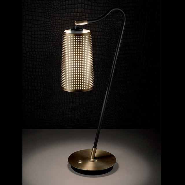 Art Deco Roma Bronze Table Lamp For Sale - Image 3 of 5