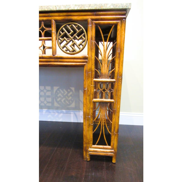 Maitland Smith Chippendale Style Console - Image 6 of 6