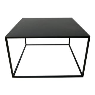 Iron Geometric Accent Table For Sale