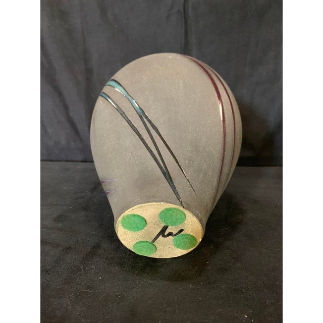 Late 20th Century Michael Cho Studio Pottery Vessel For Sale - Image 5 of 6