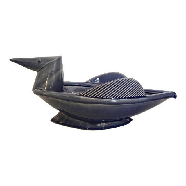 Ceramic Modernist Bird Decorative Bowl - Image 1 of 8