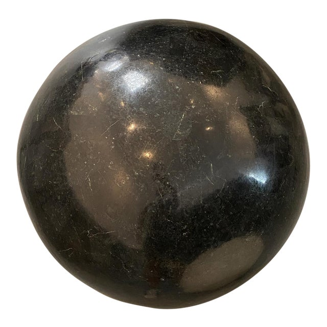 Marble Sphere Black X X L For Sale