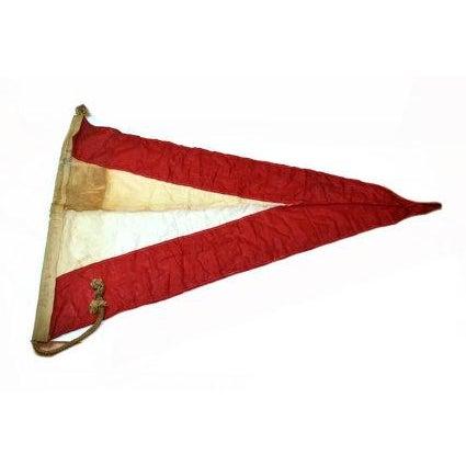 Vintage Naval Signal Flag Pennant - Image 1 of 4