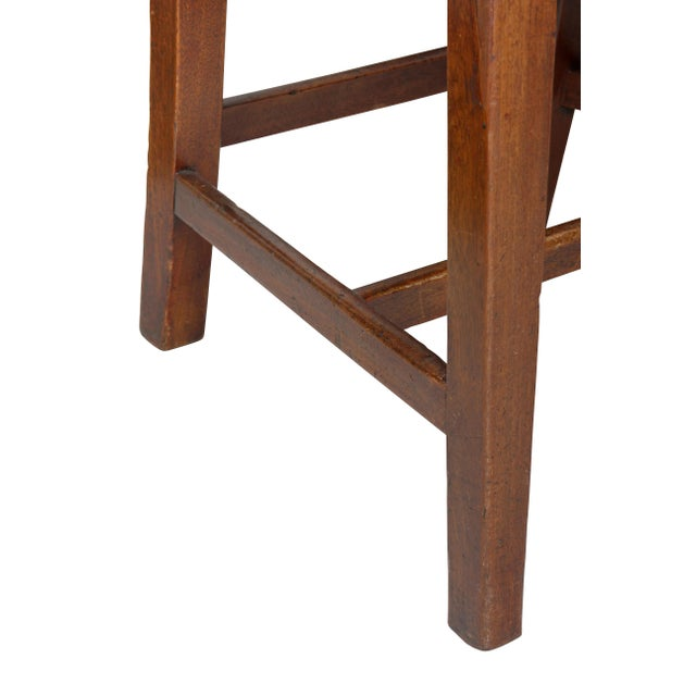 Federal Mahogany Side Chairs - Set of 4 For Sale In Boston - Image 6 of 10