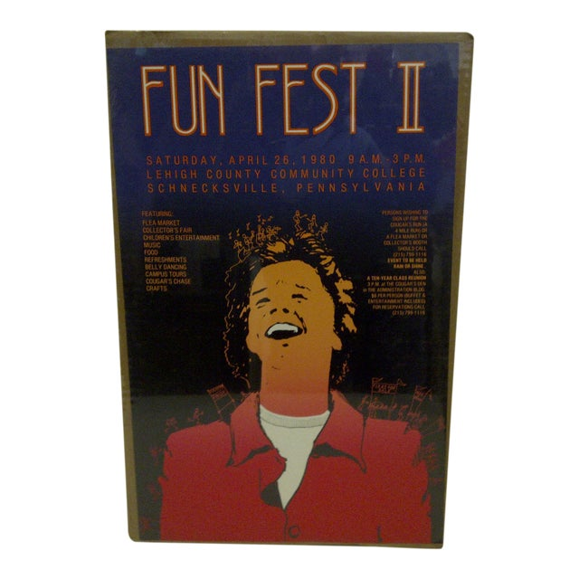 """""""Fun Fest II"""" Lehigh County Community College Poster For Sale"""