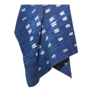 Indigo African Mud Cloth For Sale
