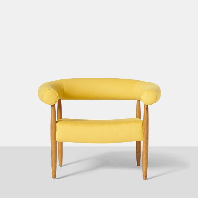"""Kolds Savvaerk Pair of """"Ring"""" Chairs by Nanna Ditzel For Sale - Image 4 of 10"""