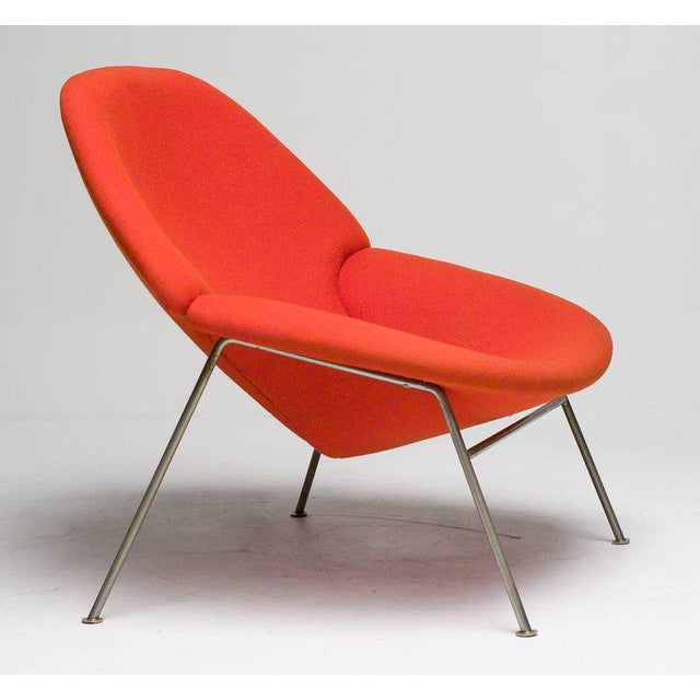 Silver Pierre Paulin F555 Lounge Chair For Sale - Image 8 of 8
