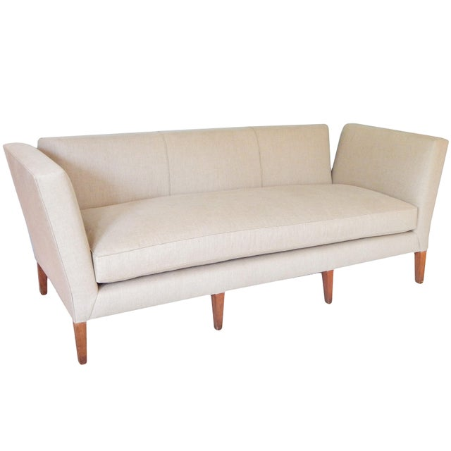 Traditional Knole Style Sofa For Sale - Image 3 of 9