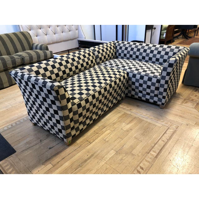 Contemporary A.Rudin Custom Two-Piece Sectional For Sale - Image 3 of 12