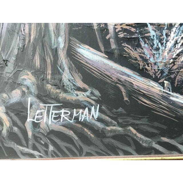 73a61e8b48e6 Mid-Century Letterman Mallard Realist Landscape Scene Painting For Sale -  Image 4 of 10