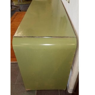 1930s Art Deco Simmons Waterfall Metal Executive Desk Preview