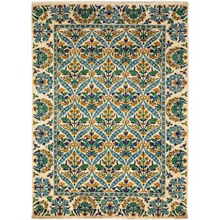 "Arts & Crafts, Hand Knotted Area Rug - 6'2"" X 8'8"" For Sale"