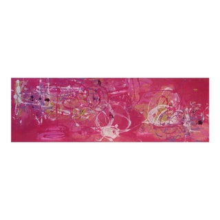 """Contemporary Abstract Oil Painting """"Lola & Guillermo II"""" Mirtha Moreno"""