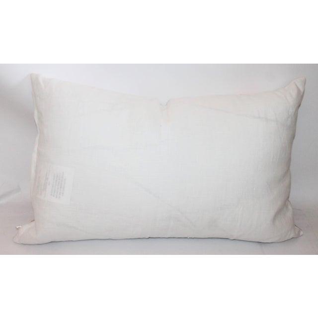 American Floral Tea Towel Pillow - Image 6 of 6