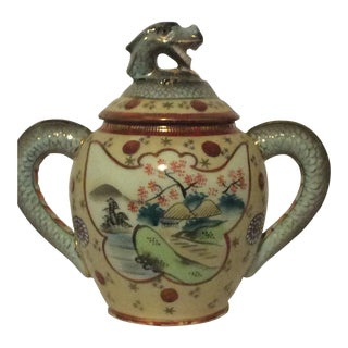 Japanese Dragon Teapot, Marked For Sale