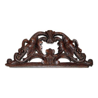 Antique French Carving For Sale