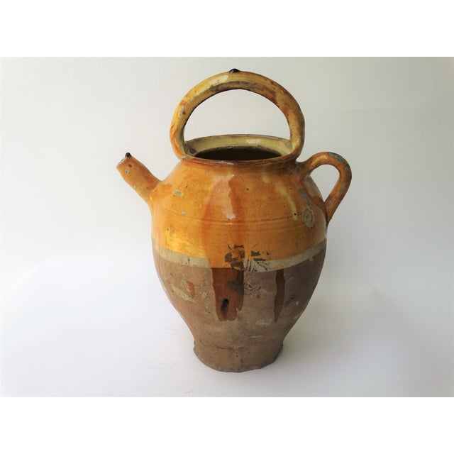 Antique French Pitcher Cruche For Sale - Image 10 of 10