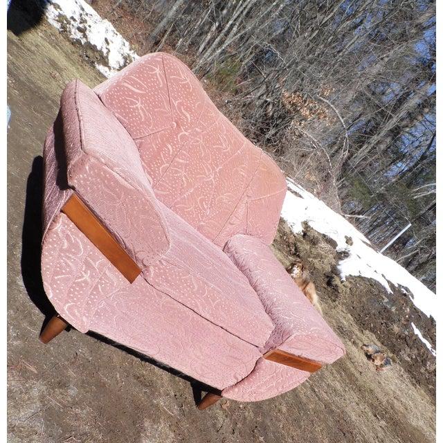 1950s Stylette Furniture Co. Mid-Century Modern Gondola Chair - A ...