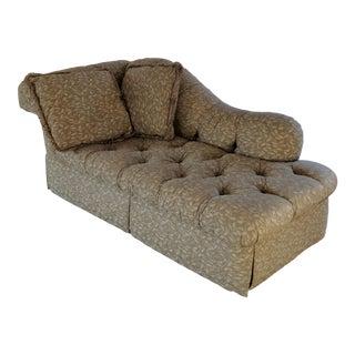 Modern ABC Home Furnishings Chaise Sofa For Sale