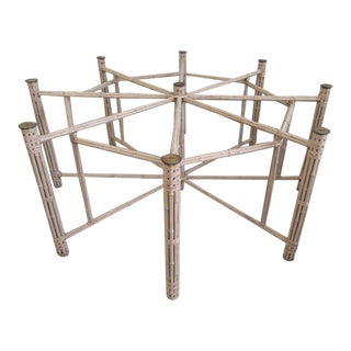 McGuire Bamboo Octagon Table For Sale