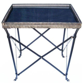 Granite Top Regency Side Table For Sale