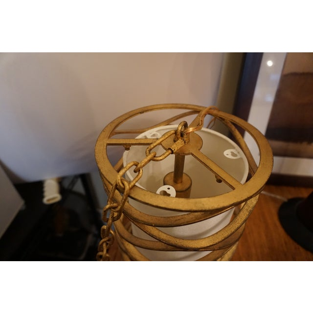 Modern Small Bracelet Lantern in Gilded Iron From Visual Comfort For Sale - Image 3 of 4