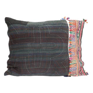 Antique Textile Pillow For Sale