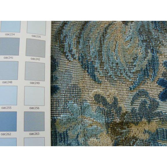 """Brunschwig and Fils """"Great Ming"""" Twilight Velvet Pillows - a Pair For Sale In Atlanta - Image 6 of 8"""
