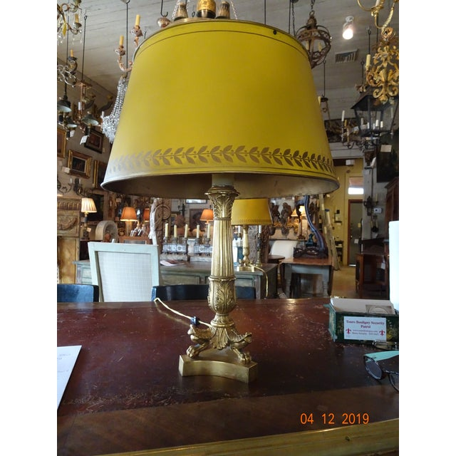 Pair of 19th Century French Bouillotte Lamps For Sale - Image 12 of 12
