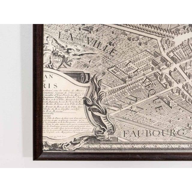 1920s Antique Map of Paris For Sale - Image 5 of 6