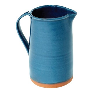 Handmade Breakfast Pitcher from New York Stoneware For Sale