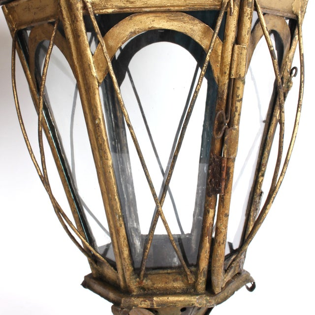 Pair of 19th Century Italian Processional Lanterns For Sale - Image 9 of 11