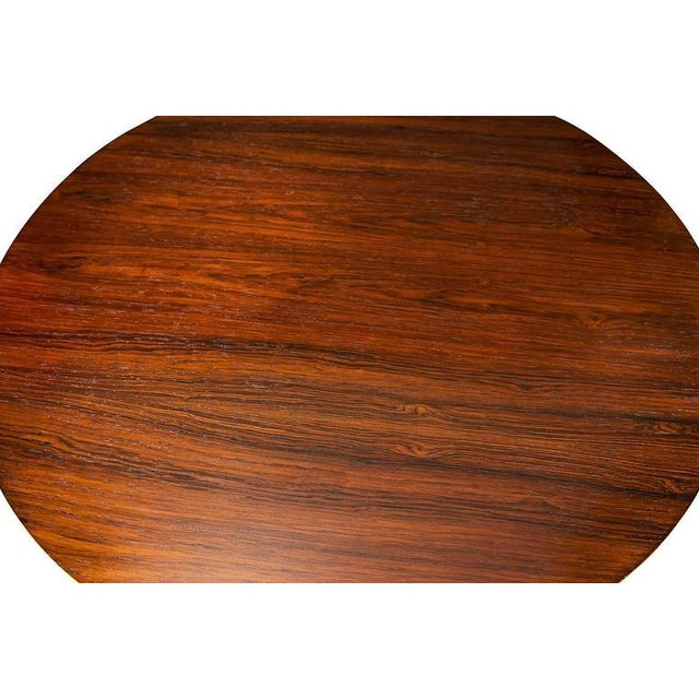 1960s Arne Jacobsen Rosewood Coffee Table For Sale - Image 5 of 7