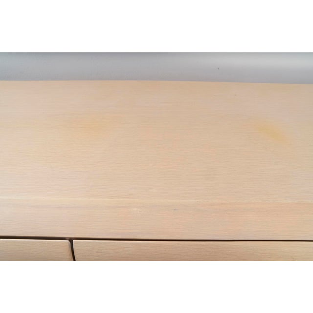 Wood Ello Cerused Oak Cabinet For Sale - Image 7 of 9