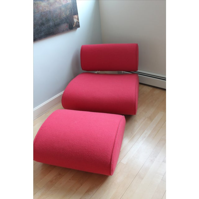 Paolo Lenti Chair And Ottoman - Image 2 of 4