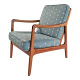 Image of 1950s Contemporary Ole Wanscher for France and Son Lounge Chair For Sale