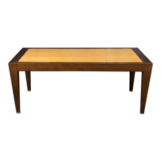 Contemporary Donghia Wood Cocktail Table