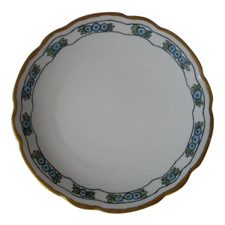 Antique China Serving Plate For Sale