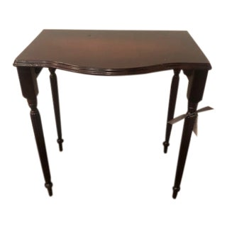 1970s Chippendale Mahogany Side Table For Sale